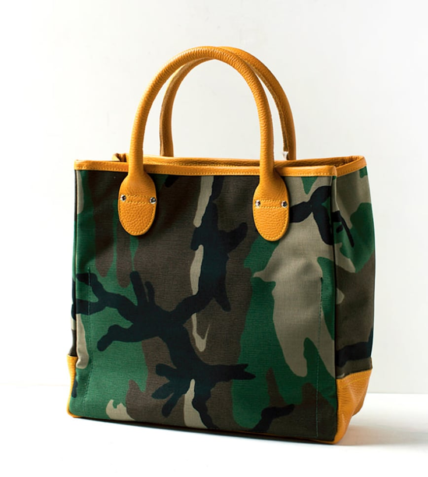 We love that a camo print gives this classic tote silhouette a trendier feel. We have a feeling we'd end up carrying this cool-girl FGC Co. Tool Tote ($297) everywhere this Summer and into the Fall.