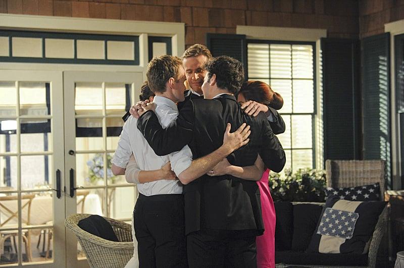 This group hug is killing me!