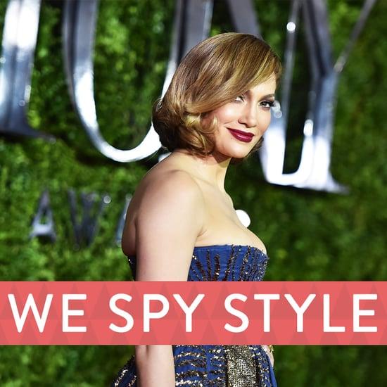Jennifer Lopez in Valentino at Tony Awards 2015  | Video