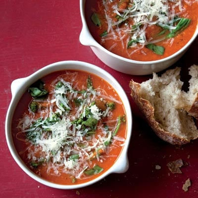 Fast and Easy Recipe For Broccolini and Tomato Soup