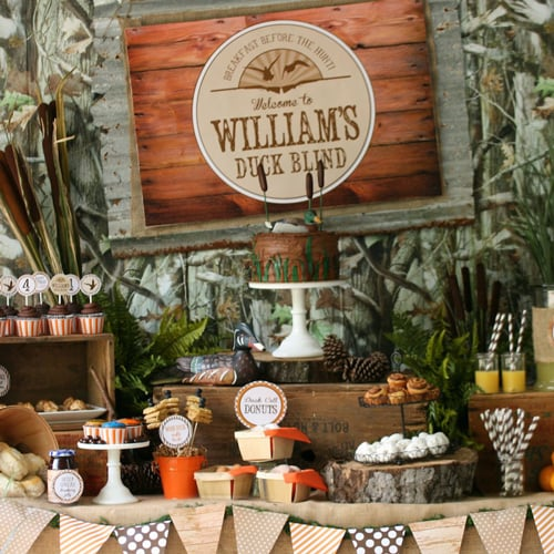 Duck Dynasty Birthday Party Ideas For Kids