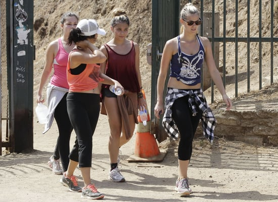 Guess Which Celebrity Went Hiking With Her Girlfriends?