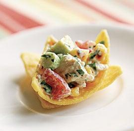 Monday's Leftovers: Tex-Mex Chicken Salad Wraps