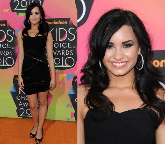 Demi Lovato at 2010 Kids Choice Awards