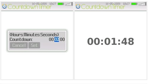 Put a Timer On Your BlackBerry, For Free!