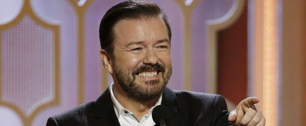 Ricky Gervais Burned These Stars So Badly They Might Need Neosporin