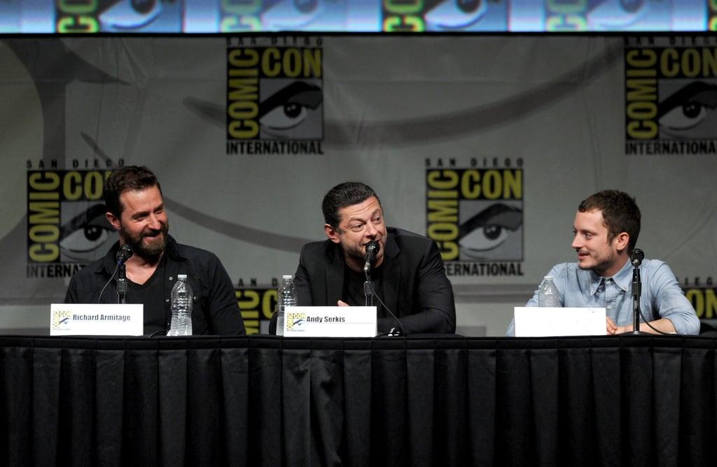 All the Stars at Comic-Con!