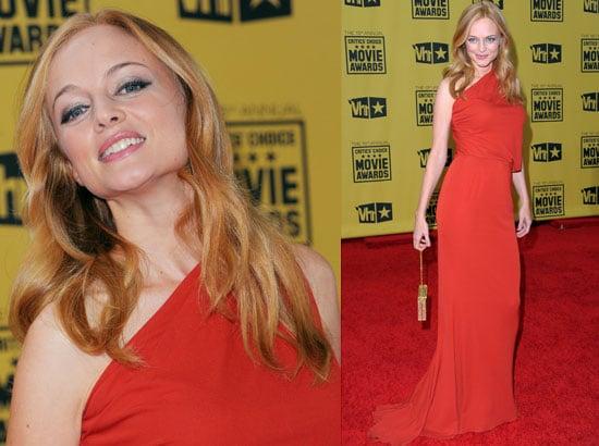 Heather Graham at 2010 Critics' Choice Awards 2010-01-15 18:50:36