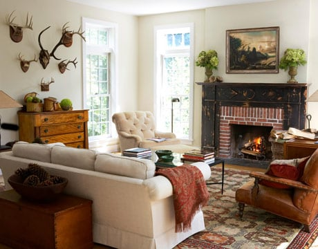 Get the Look:  Cozy Autumn Fireplaces