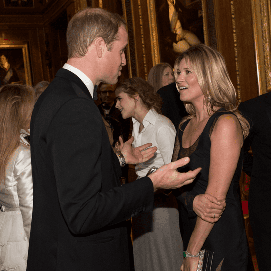 Kate Moss Flirting With Prince William in London