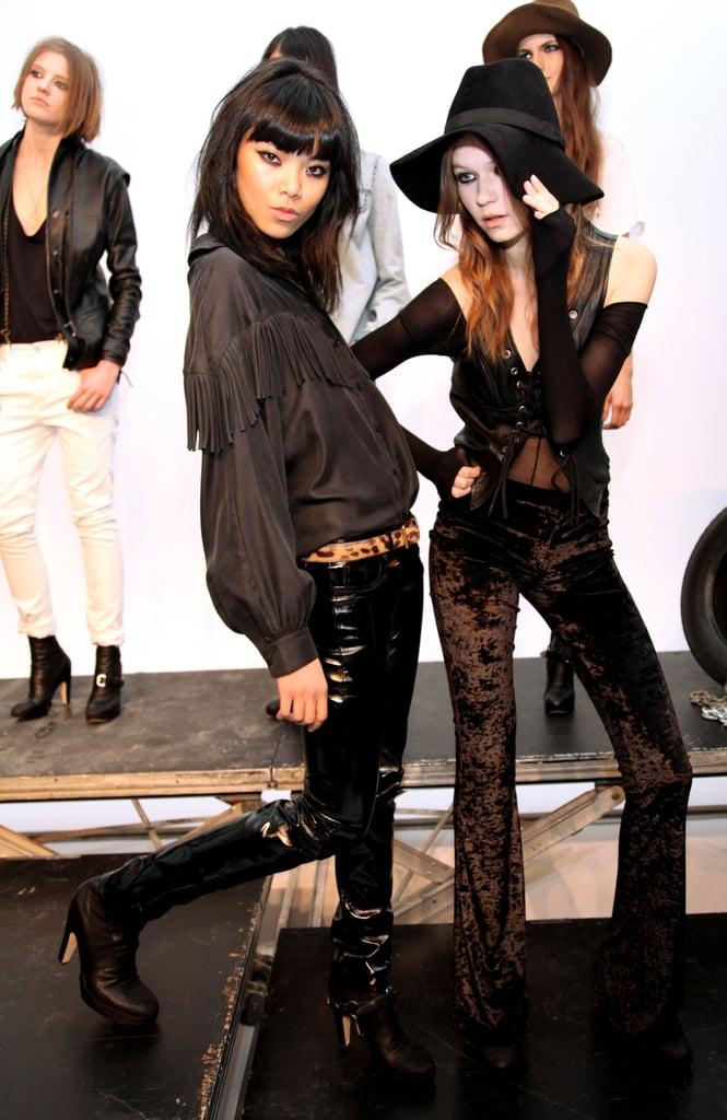 New York Fashion Week: Erin Wasson + RVCA Fall 2009
