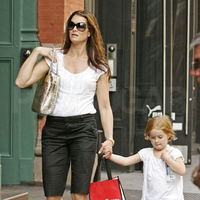 Brooke Shields and Grier Henchy Out in NYC