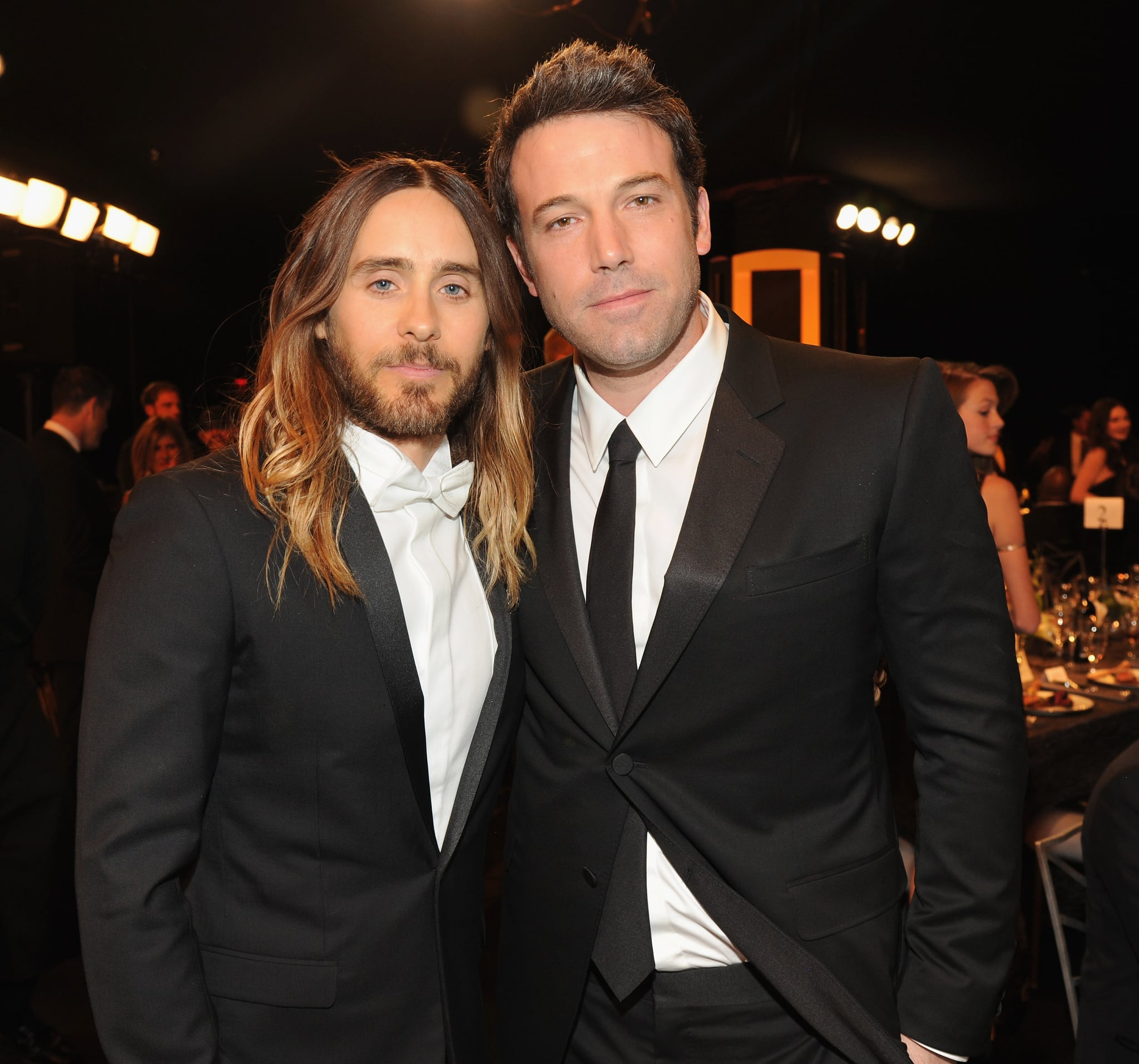 Jared and Ben posed for a photo together.