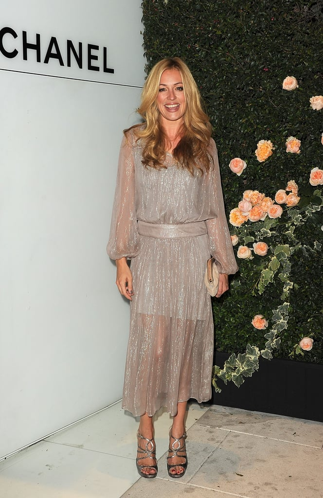 Cat Deeley struck a pose at the Chanel party.