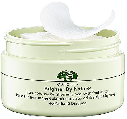 Origins Brighter By NatureTM; High-Potency Brightening Peel with Fruit Acids
