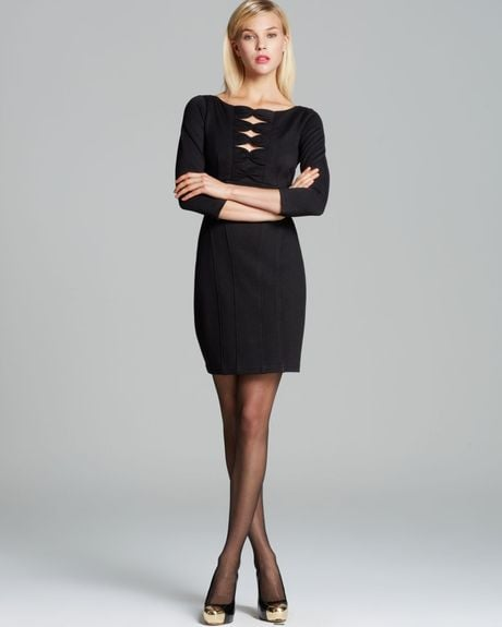 Nanette Lepore is one of my absolute favorite designers, and this On My Mind Bow Detail Dress ($278) is gorgeous. It works as a simple LBD, but it also has just enough detail to make it memorable. Ideal for all your holiday party needs! — Maggie Pehanick, assistant editor