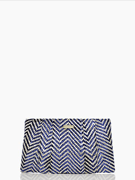 Summer may be wrapping up, but there are still a few weeks left for fun! Carry this light clutch ($99, originally $268) to all your upcoming events.