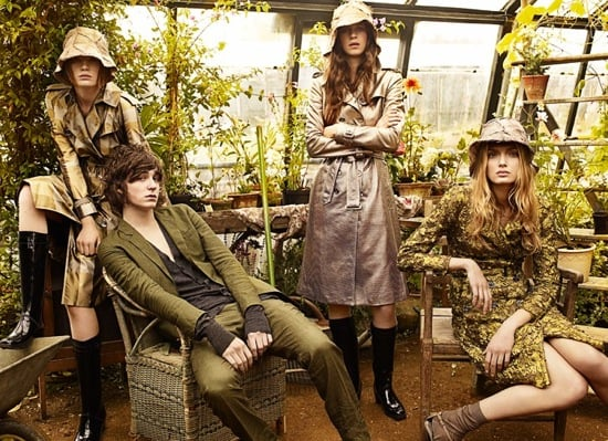 Burberry Spring 2009 Ad Campaign