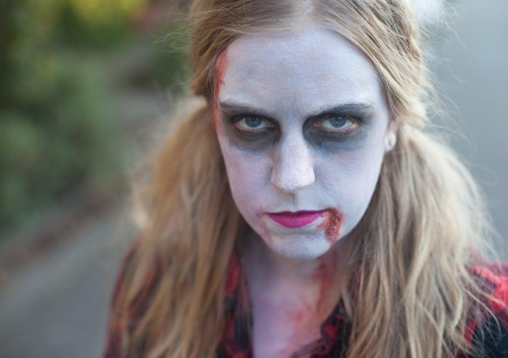 Zombie makeup for men