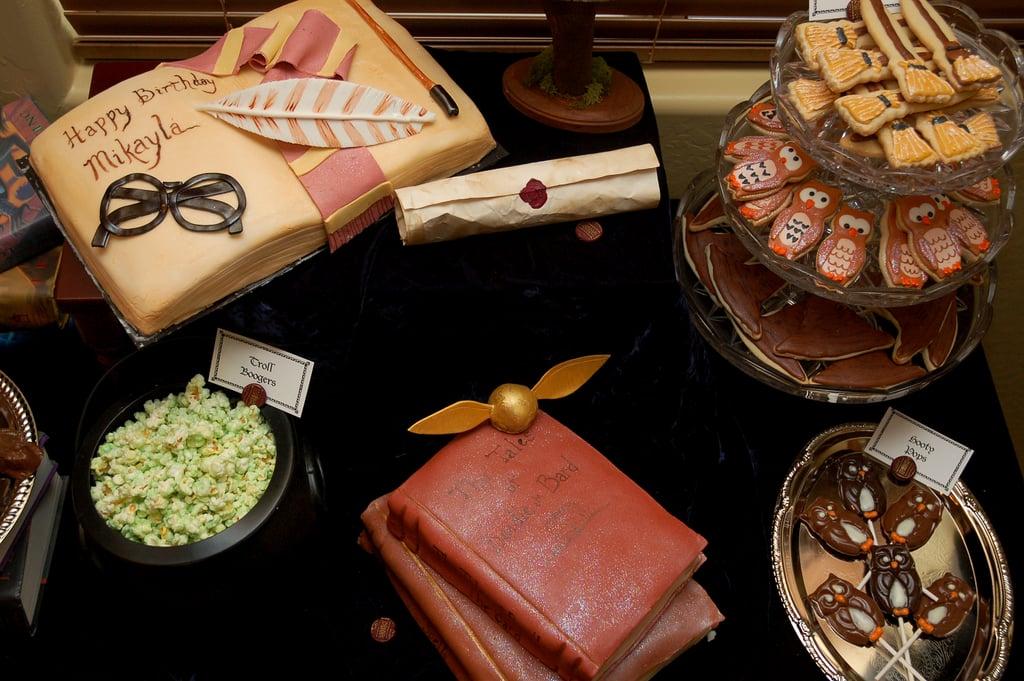 Harry Potter Dessert Table