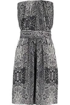 Cosmic snakeskin-print dress$340