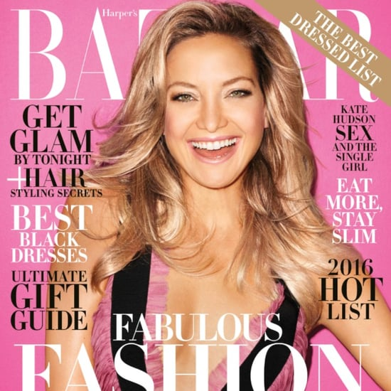 Kate Hudson on Harper's Bazaar December 2015