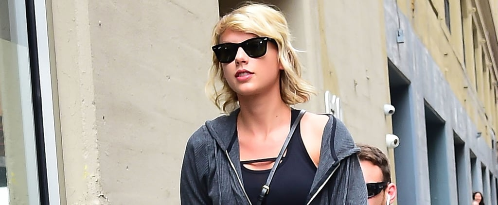 Taylor Swift's Short Shorts Will Inspire You to Do One of Those Squat Challenges