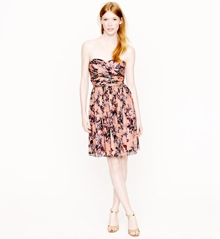 We'll file this J.Crew Arabelle dress in hummingbird floral print ($275) under perfect options for wedding season, Spring cocktails, and more — in short, it's the perfect party dress.