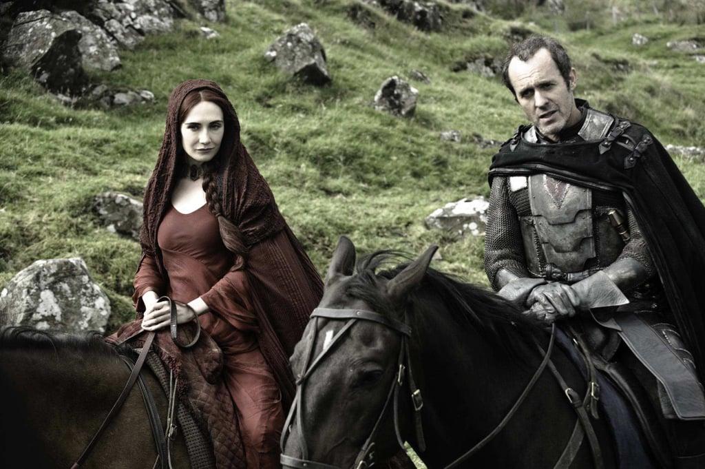 Stannis Baratheon and Melisandre