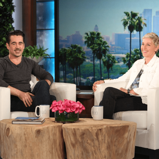 Colin Farrell on The Ellen Show May 2016
