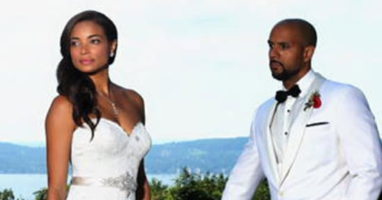'Mistresses' Star Rochelle Aytes Marries C.J. Lindsey: See Her Wedding Dress!