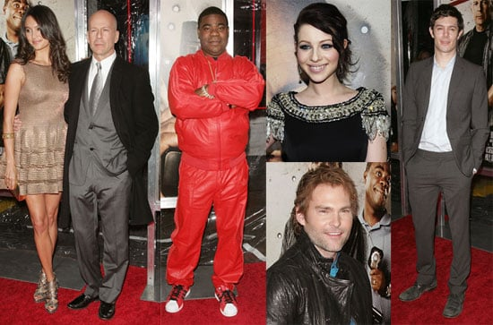 Photos of Adam Brody, Bruce Willis and Tracy Morgan at the NYC Cop Out Premiere 2010-02-23 19:30:04