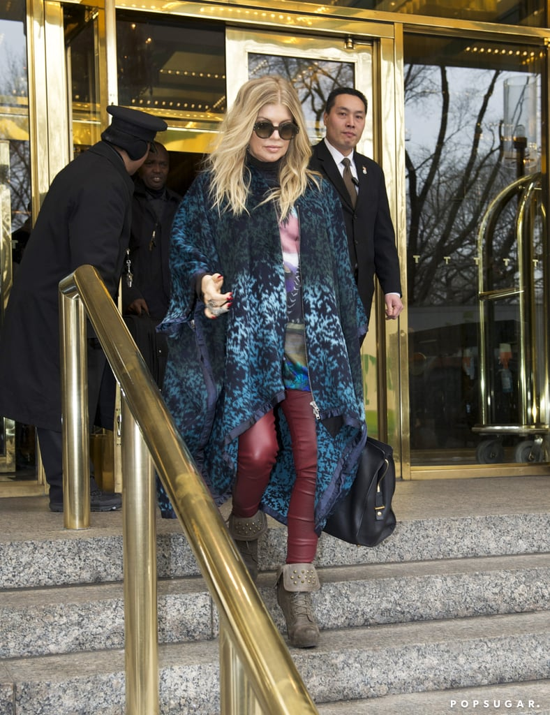 Fergie Takes On NYC as Josh Hints at Having a Baby Boy