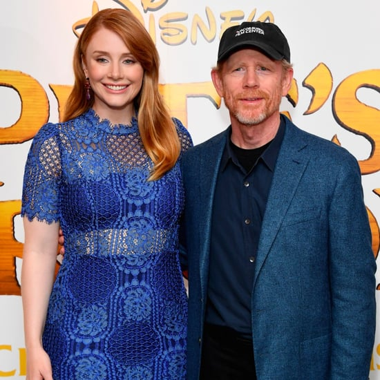 Ron Howard and Bryce Dallas Howard at Pete's Dragon Premiere