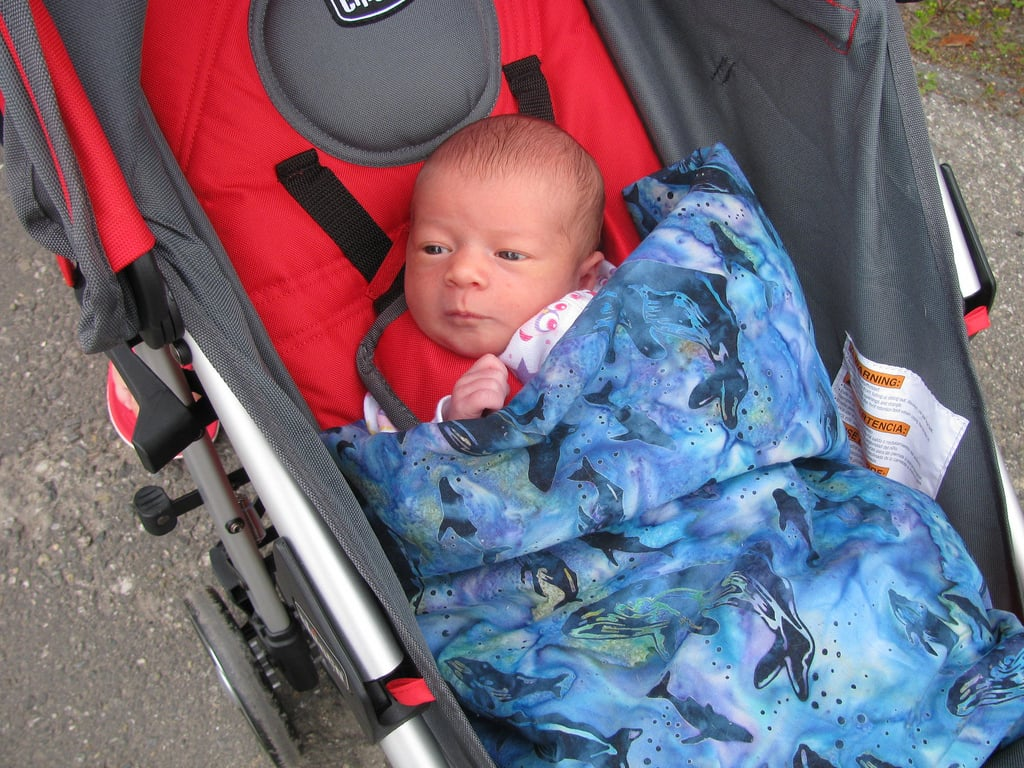 First Time in the Stroller