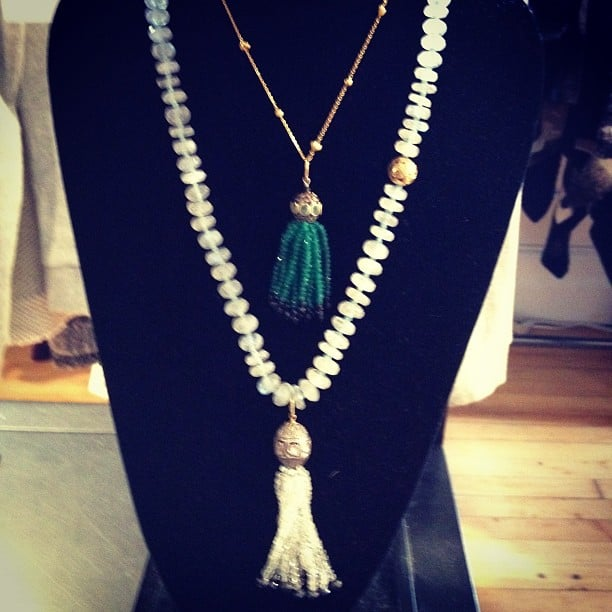 Tassel necklaces are having a moment — are you on board?