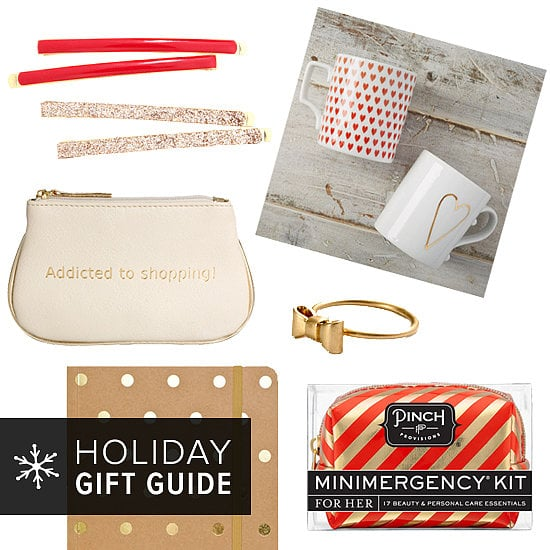 POPSUGAR Love & Sex has given you a head start on your holiday shopping by scouring the web for small, affordable gifts that your girlfriends are sure to cherish. So check out these funny, fancy, and unique gifts — all $20 and under — now!
