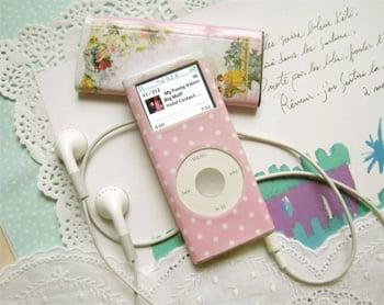 Chic and Feminine iPod Decals