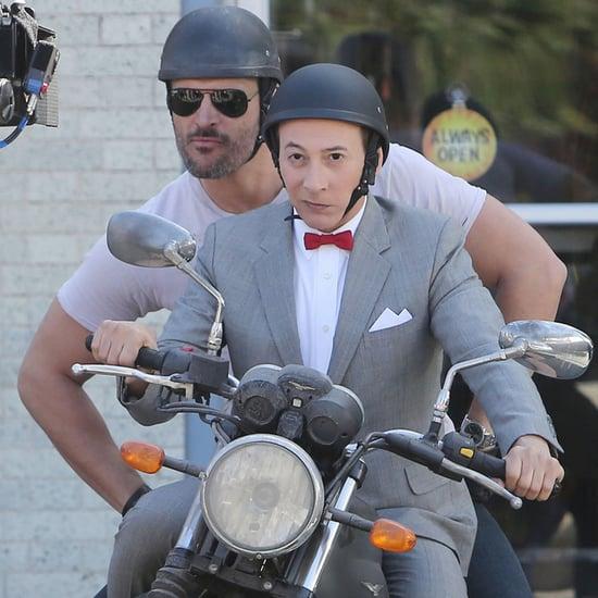 Joe Manganiello Joins Pee-wee's Big Holiday
