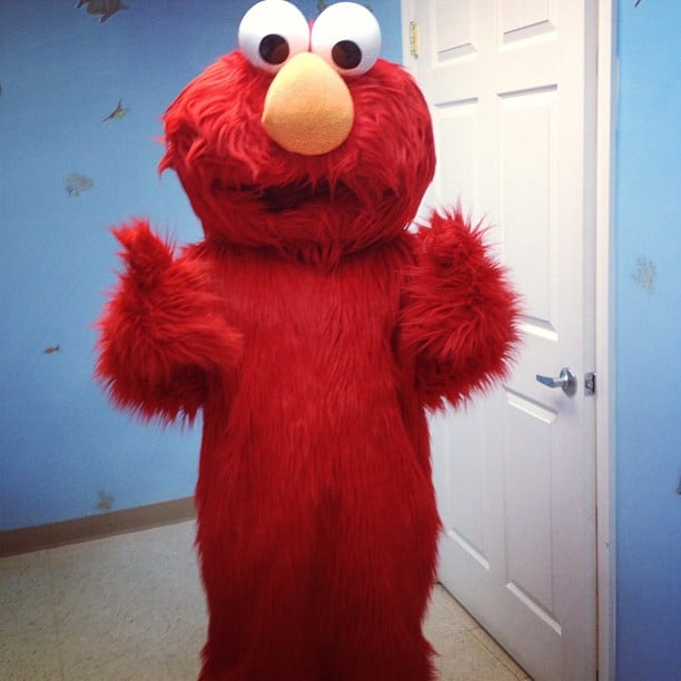 Show Up at Your Child's Birthday Party . . . as Elmo
