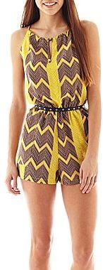 City Triangles Keyhole Romper