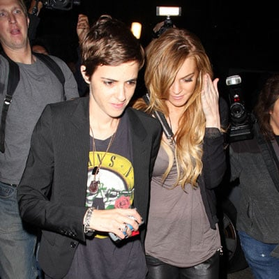 Lindsay Lohan and Samantha Ronson Out in LA 2008-09-20 11:04:36