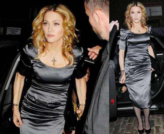 Pictures of Madonna Out For Her Birthday