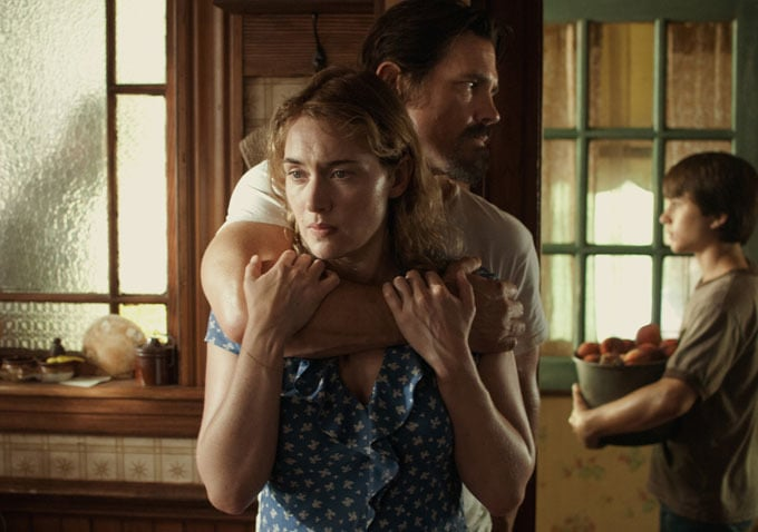 Labor Day  What it's about: A single mother (Kate Winslet) takes in a wounded man (Josh Brolin) and soon learns he's an escaped convict. Though she has a young son to protect, she struggles with her romantic feelings for the man. Why we're interested: Never a dull performance from Kate Winslet! I'm also pretty partial to director Jason Reitman (Up in the Air), so I'm excited to see them team up. When it opens: Dec. 27