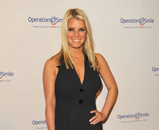 Slide Photo of Jessica Simpson at Operation Smile Event in LA