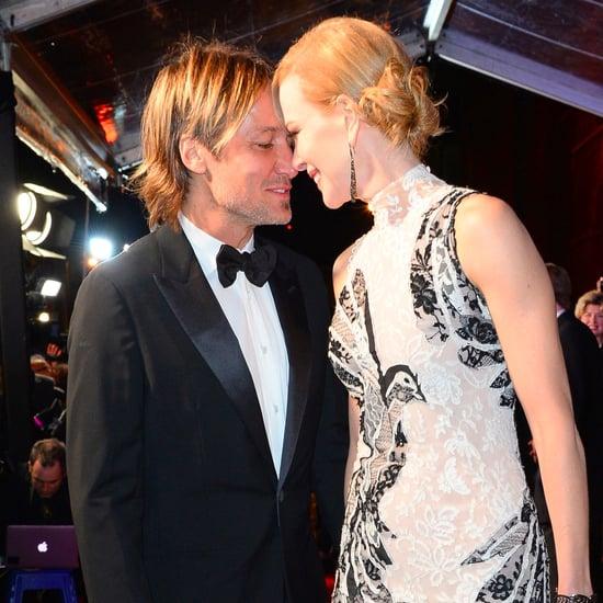 Nicole Kidman and Keith Urban Evening Standard Awards 2015
