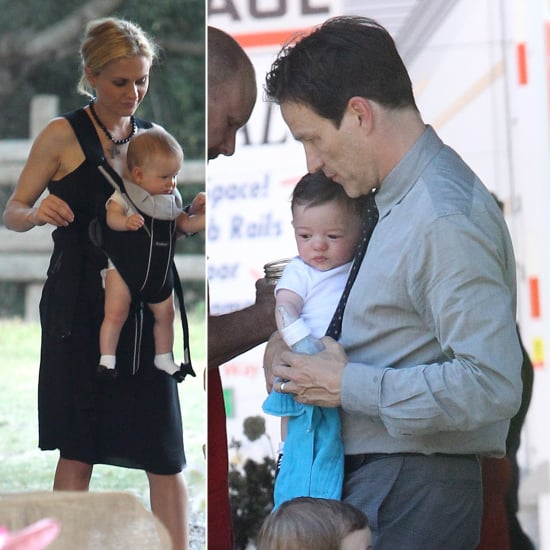 Pictures of Anna Paquin's Twins