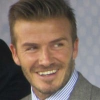 David Beckham shows off his sewing talent in precious photo