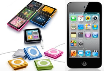 New Apple iPods Shipping This Week
