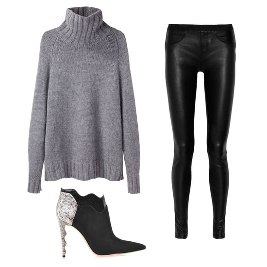 How to Wear Leather Pants and Leggings